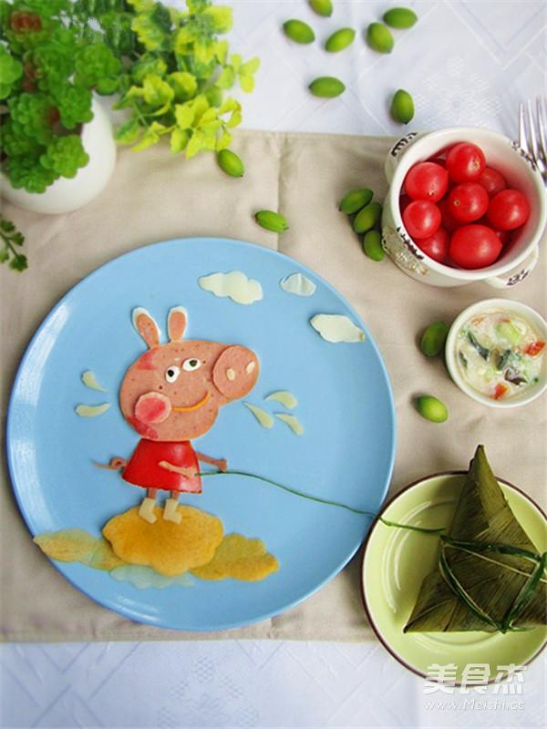 简易早餐——小猪佩奇怎么吃