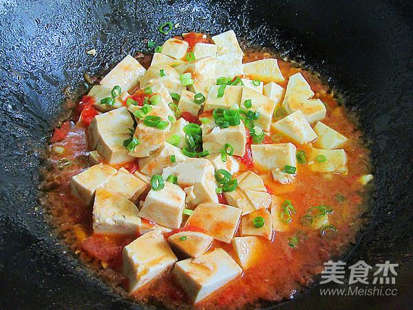茄汁豆腐怎么炒