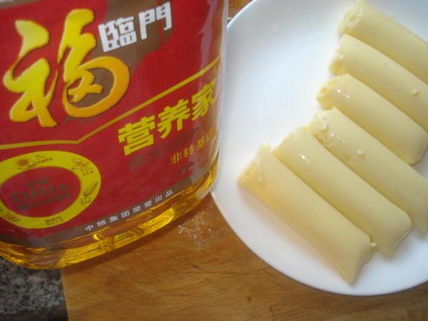 日本豆腐酿肉#福临门营养家#的家常做法