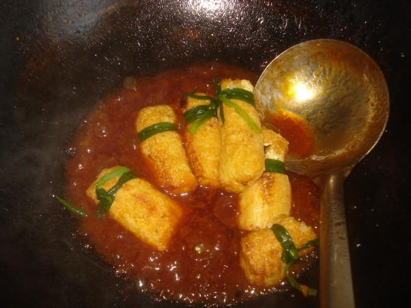 日本豆腐酿肉#福临门营养家#的做法大全