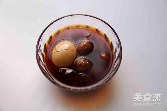 红糖红枣桂圆鸡蛋汤成品图