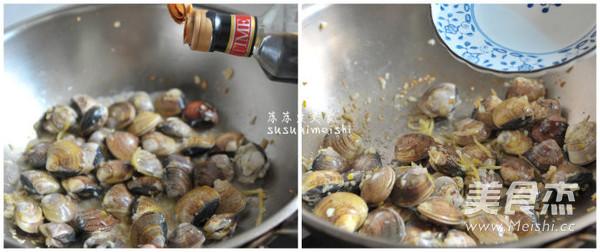剁椒炒花蛤的简单做法