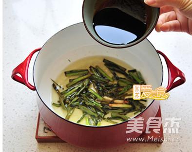 葱油拌面的简单做法