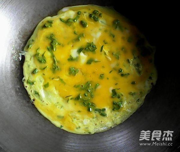 枸杞叶鸡蛋饼怎么做