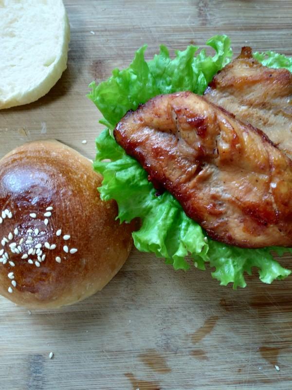 照烧鸡肉汉堡怎样炒