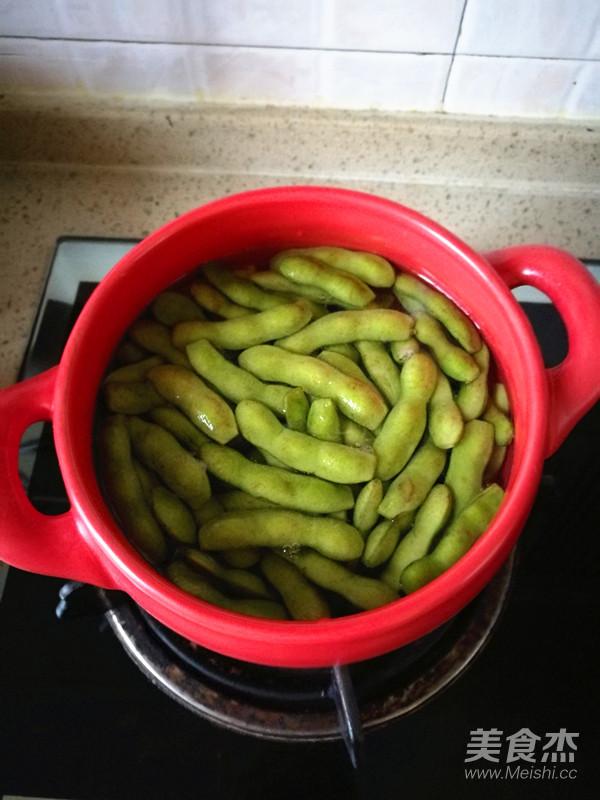 五香毛豆怎么吃