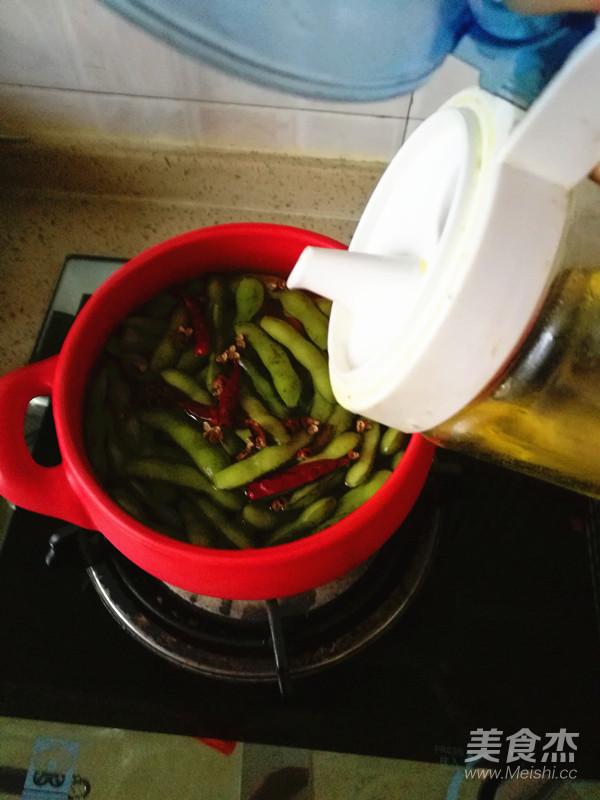 五香毛豆怎么煮