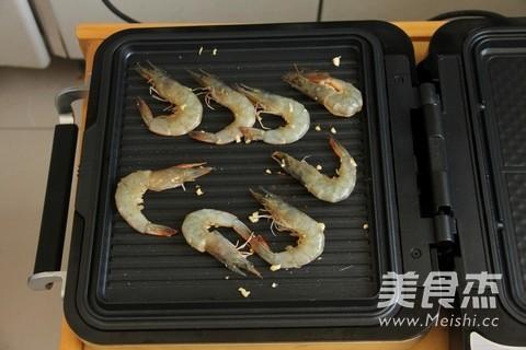 香烤对虾的简单做法