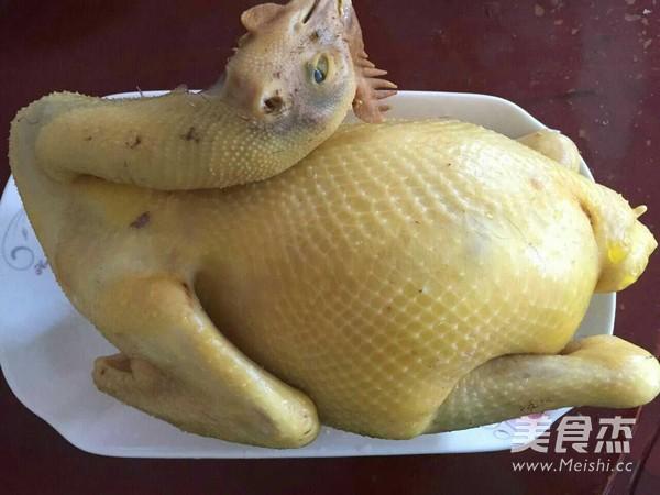 湛江白切鸡成品图