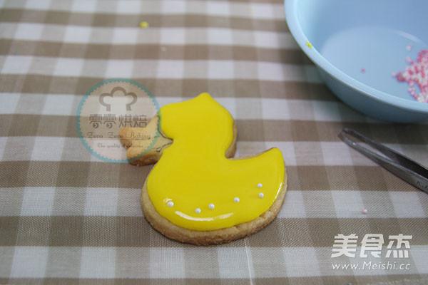 小鸭子糖霜饼干怎样煸