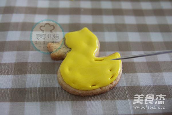 小鸭子糖霜饼干怎么煸