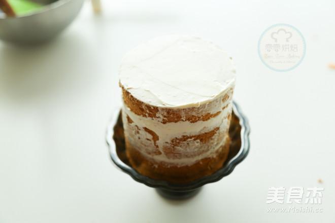 巧克力淋面裸蛋糕的制作