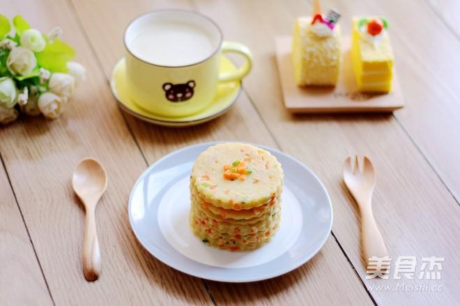 葱香豆浆饼成品图