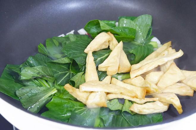 苔菜烩豆腐怎么做