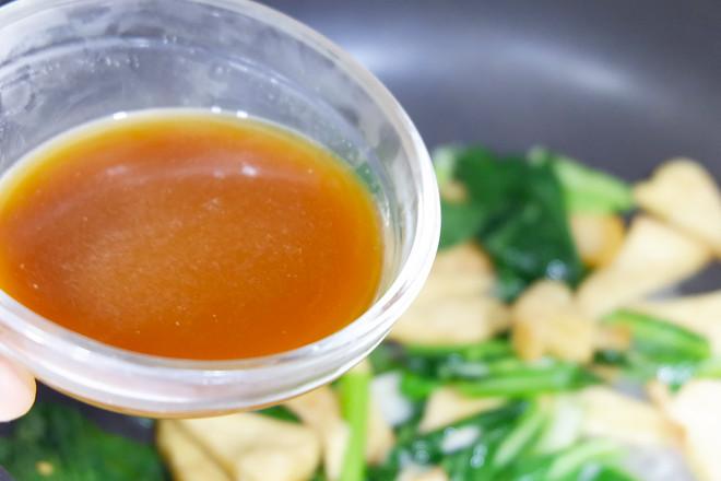 苔菜烩豆腐怎么炒
