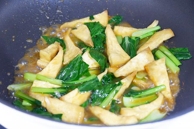 苔菜烩豆腐怎么煮