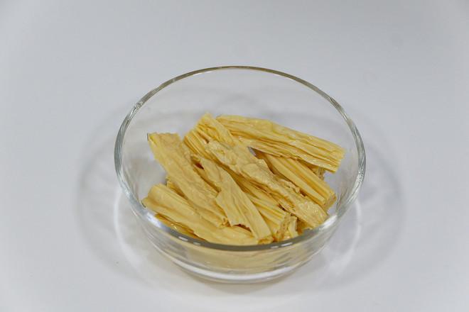 黄瓜炒腐竹的做法图解