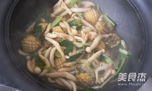 鲍鱼海鲜菇怎么煮