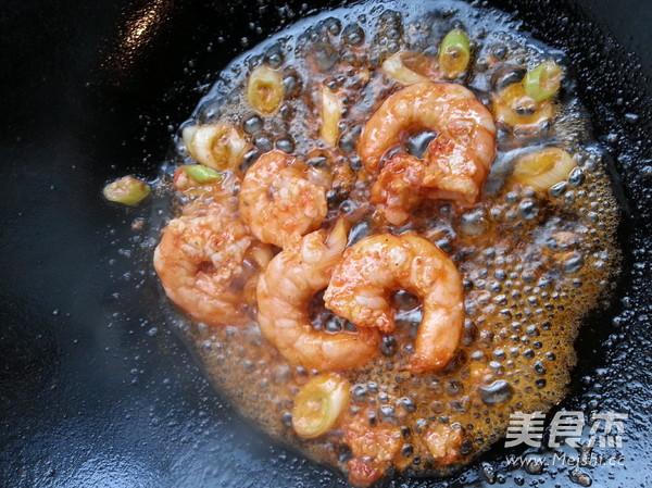 白菜炒虾的简单做法