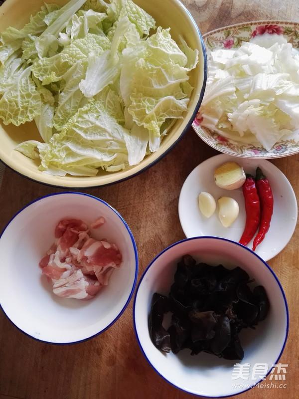 五花肉炒白菜的做法大全