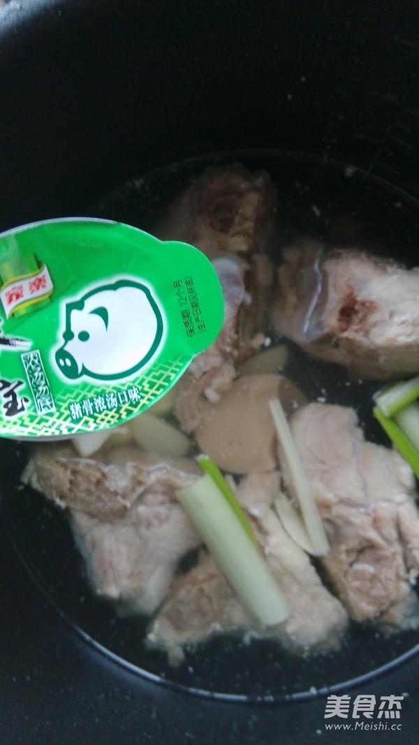 小白菜猪骨浓汤的简单做法
