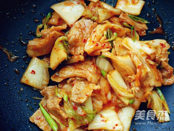 辣白菜炒五花肉樱花味道怎么做