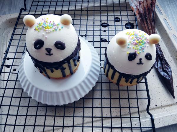 熊猫冰淇淋蛋糕#下午茶#的制作