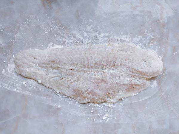 香酥免炸鱼排的简单做法