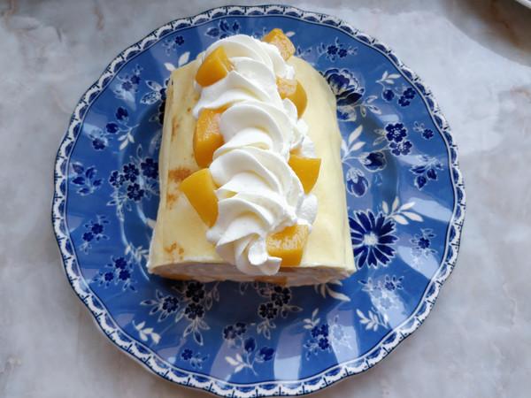黄桃千层蛋糕卷怎样煮