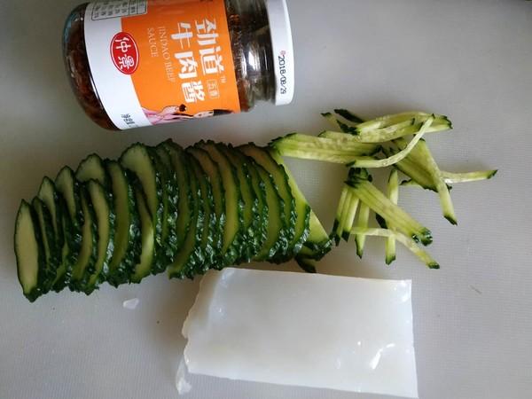 拌凉皮黄瓜菜