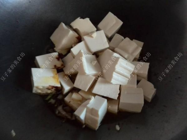 黄酱炒豆腐的家常做法