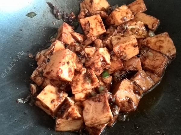 黄酱炒豆腐怎么吃
