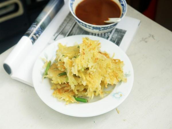 早餐蔬菜饼成品图
