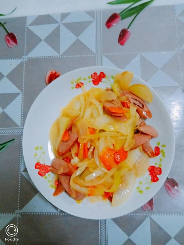 洋葱胡萝卜成品图