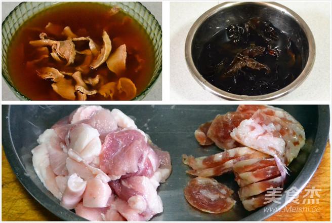 来一盘美味的下饭菜---青蒜腊烧笋干的做法大全