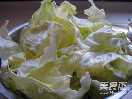 黄金卷心菜泡菜的做法图解