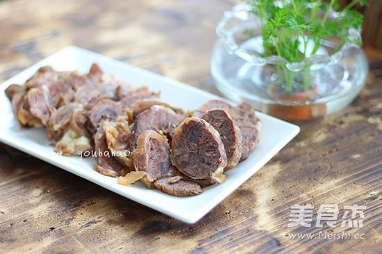 清炖牛肉成品图