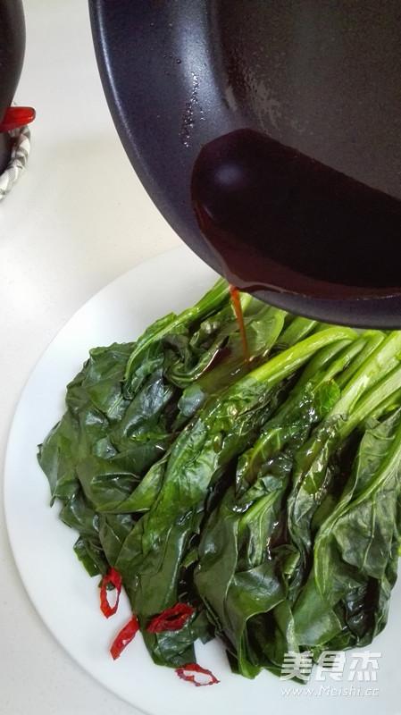 蚝油芥兰的做法 菜谱