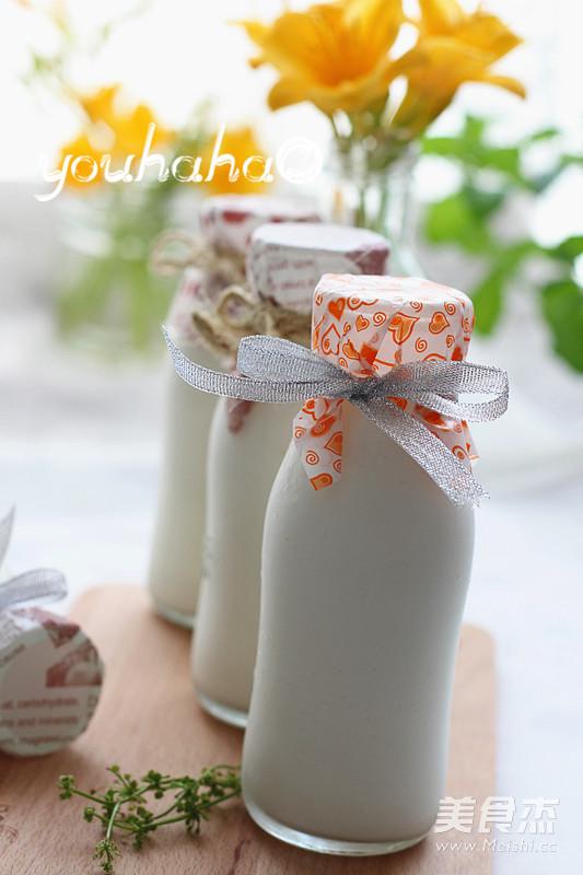 老酸奶成品图