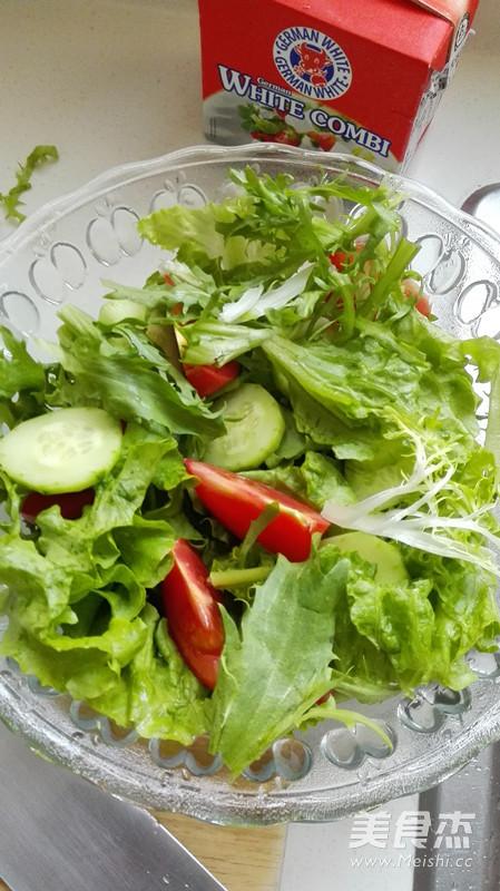 白奶酪蔬菜沙拉的家常做法