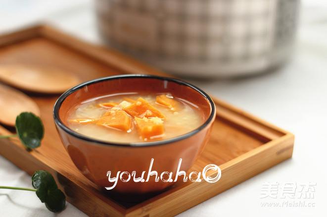 红薯小米粥成品图