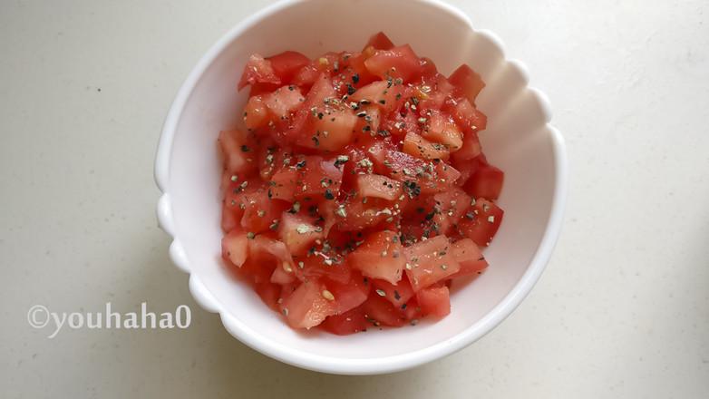 番茄莎莎酱怎么吃