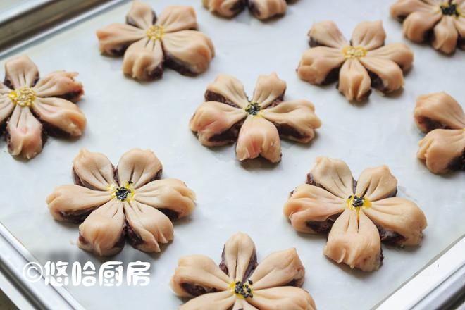 桃花酥的制作