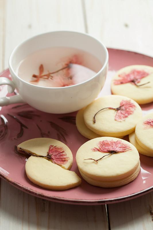 樱花饼干成品图