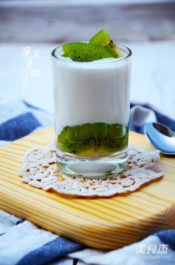 自制酸奶成品图