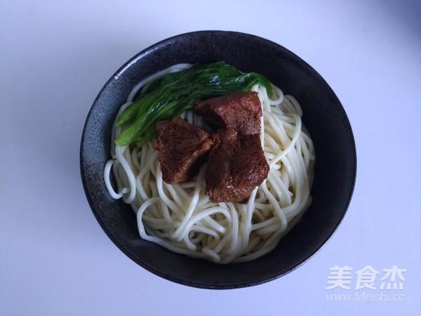 红烧牛肉面的制作方法