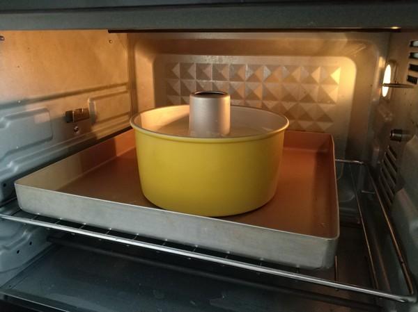 柠檬戚风蛋糕的制作