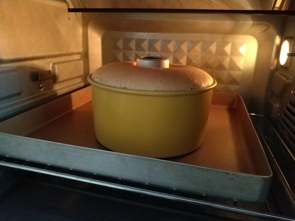 柠檬戚风蛋糕的制作方法