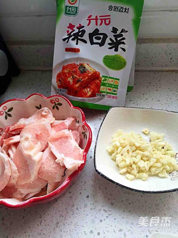 辣白菜炒五花肉的做法大全