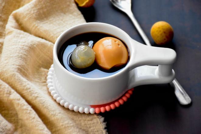 桂圆红糖鸡蛋甜汤成品图